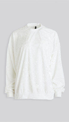 Onzie Velvet Boyfriend Sweatshirt