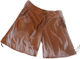 adidas Stella Mc Cartney Pour Beige Cotton Trousers for Women