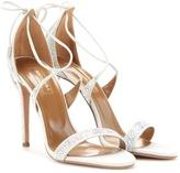 Aquazzura Linda Embellished Sandals