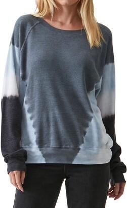 Michael Stars Mira Raglan Sleeve Thermal Knit Pullover