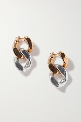 Bottega Veneta Gold And Silver-tone Earrings