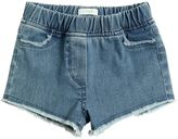 Il Gufo Stretch Denim Shorts