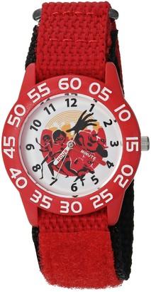 Disney Kids' WDS000570 The Incredibles 2 Analog Display Analog Quartz Red Watch