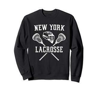 LaCrosse New York Player Gift LaX Sport Team State NY Sweatshirt