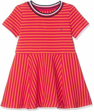 Tommy Hilfiger Baby Girls' Stripe Knit Skater Dress