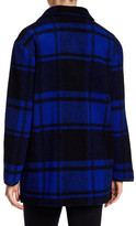 Pendleton Sonoma Buffalo Plaid Wool Blend Jacket