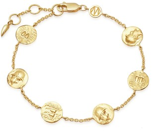 Missoma Lucy Williams Gold Legion Coin Bracelet