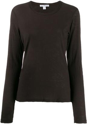 James Perse longsleeved round neck T-shirt