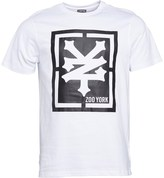 Zoo York Mens Malto Big Logo T-Shirt White