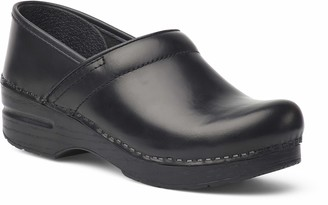 Dansko Women's Professional Box Leather Clog