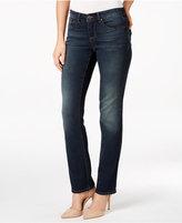 Vintage America Boho Straight-Leg Jeans