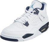 """Jordan Nike Mens Air 4 Retro LS """"Columbia"""" Leather Size 10.5"""