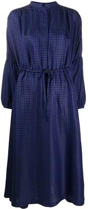 Odeeh Patterned Tie Waist Dress