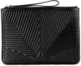 Golden Goose Deluxe Brand quilted star clutch