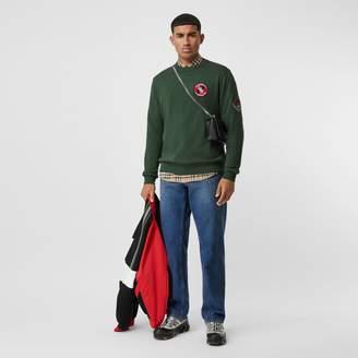 Burberry Logo Graphic Cotton Sweatshirt