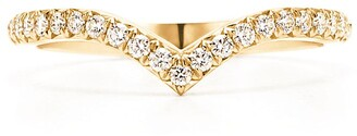 Tiffany & Co. Soleste V ring in 18ct gold with diamonds