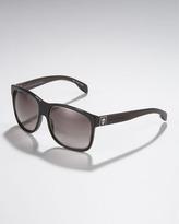 Alexander McQueen Wood-Arm Sunglasses