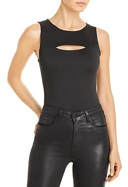 Aqua Cutout Sleeveless Bodysuit - 100% Exclusive