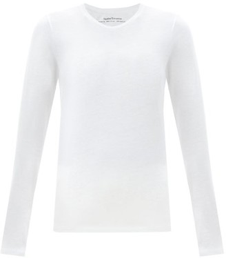 Another Tomorrow - Long-sleeved Organic-cotton T-shirt - White