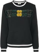 Fendi pom-pom sweatshirt