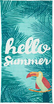 OUTDOOR OASIS Outdoor Oasis Hello Summer 30x60 Printed Beach Towel