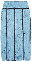 Emilio Pucci Sequined Tulle Midi Skirt