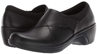 Clarks Grasp High (Black Leather) Women's Flat Shoes