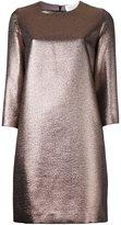 Gianluca Capannolo metallic short dress