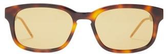 Gucci Square Acetate Sunglasses - Tortoiseshell