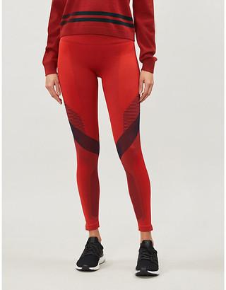 LNDR Skylark high-rise jacquard-knit leggings