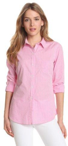 Isaac Mizrahi Jeans Women's Lillian Gingham Shirt