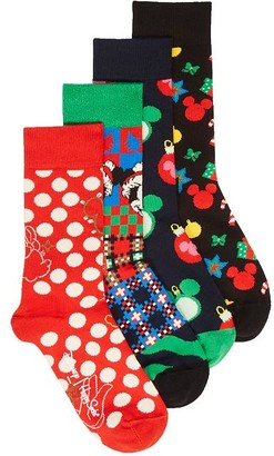 Happy Socks Disney Holiday Socks 4-Pack