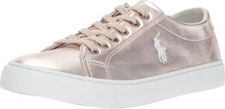 Polo Ralph Lauren Kids Unisex-Kid's Slater Sneaker