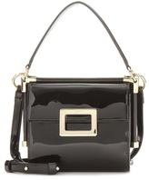 Roger Vivier Miss Viv' Carre' Mini Patent Leather Shoulder Bag