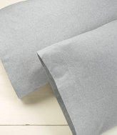 L.L. Bean Heritage Chamois Flannel Pillowcases, Heather Set of Two
