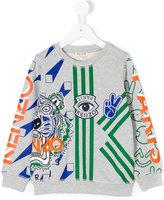 Kenzo multi-icon print sweatshirt