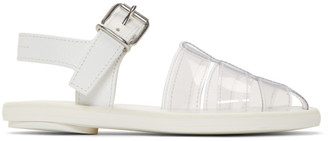 MM6 MAISON MARGIELA White PVC Pool Slides
