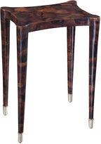 Maitland-Smith Penshell Inlaid Side Table, Aubergine