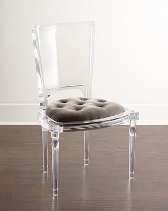 Global Views Katherine Acrylic Side Chair