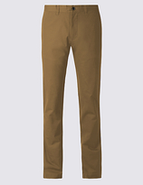 M&S Collection Slim Fit Pure Cotton Chinos