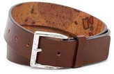 Tommy Bahama Map Leather Belt