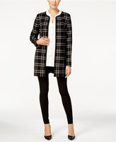 Charter Club Plaid Duster Coat, Only at Macy's