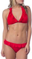 Polo Ralph Lauren Ruffled Halter Bikini Top