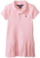 Polo Ralph Lauren Stretch Mesh Polo Dress (Toddler)