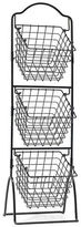 Mikasa Gourmet Basics Three Tiered Wire Market Basket