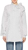 J.W.Anderson Women's Striped Cotton Poplin Blouse
