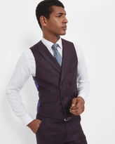Double-breasted Wool Waistcoat