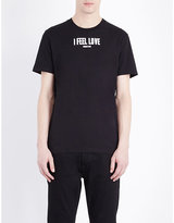 Givenchy I Feel Love Cotton-jersey T-shirt