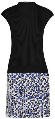 Louis Vuitton Sleeveless Bi-Material Knit Dress