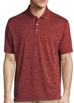 Haggar Short-Sleeve Polyester Polo